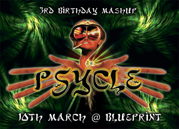 Psycle flyer front