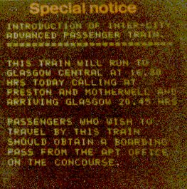 Special Notice at Euston